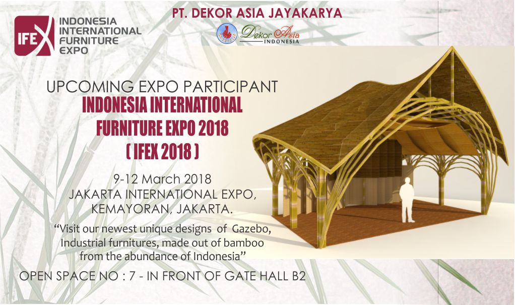 Indonesia International Furniture Expo 2018 9 12 March 2018