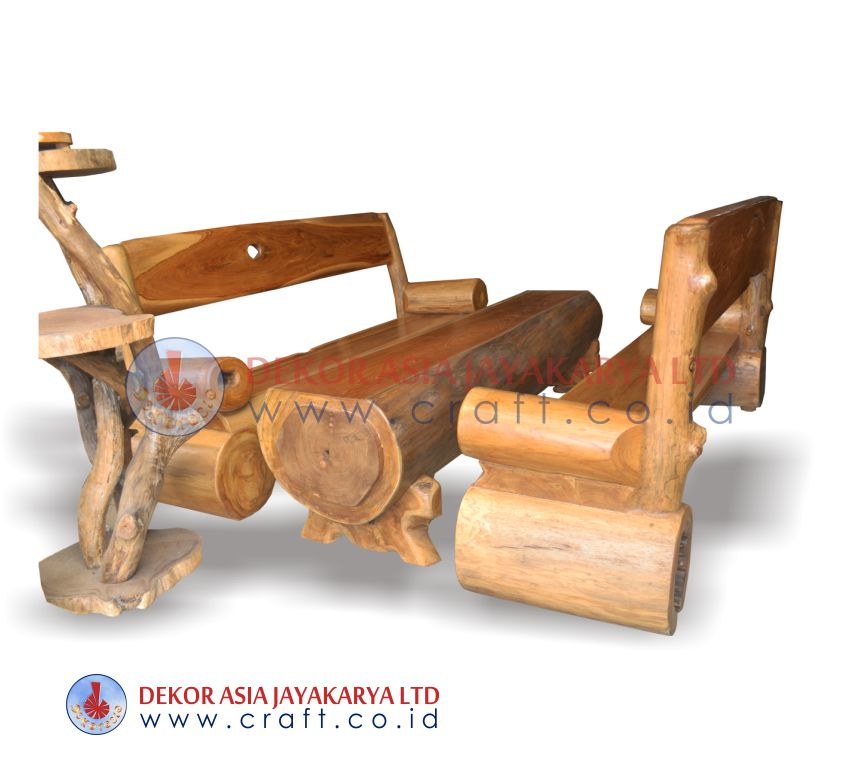 Wooden Craft Furniture ~ Wooden furniture set recycle wood